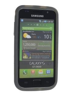 Samsung  I9000 Galaxy S Silicone Case - Grey