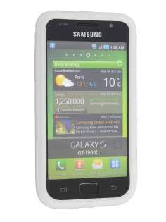 Samsung  I9000 Galaxy S Silicone Case - Clear