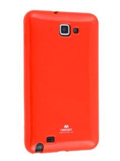 Mercury Glossy Gel Case for Samsung I9220 Galaxy Note - Red