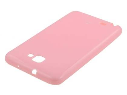 Mercury Goospery Glossy Gel Case for Samsung I9220 Galaxy Note - Baby Pink