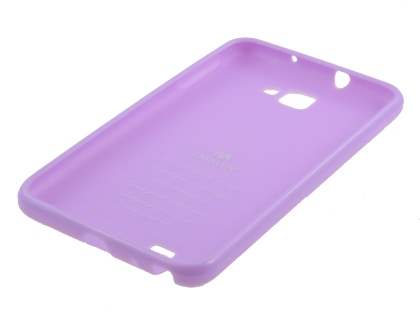 Mercury Goospery Glossy Gel Case for Samsung I9220 Galaxy Note - Light Purple