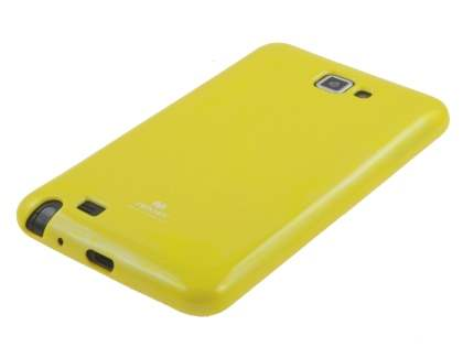 Mercury Goospery Glossy Gel Case for Samsung I9220 Galaxy Note - Yellow