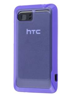 HTC Velocity 4G Dual-Design Case - Purple/Frosted Purple Dual-Design Case
