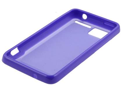 HTC Velocity 4G Dual-Design Case - Purple/Frosted Purple
