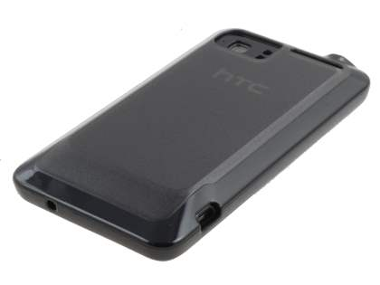HTC Velocity 4G Dual-Design Case - Black/Frosted Grey