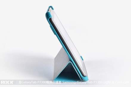 ROCK Samsung Galaxy Tab 8.9 4G Executive LC Case with Stand - Aqua Blue
