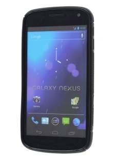 Samsung Galaxy Nexus I9250 Wave Case - Frosted Black/Black