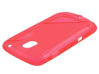 Samsung Galaxy Nexus I9250 Wave Case - Frosted Red/Red