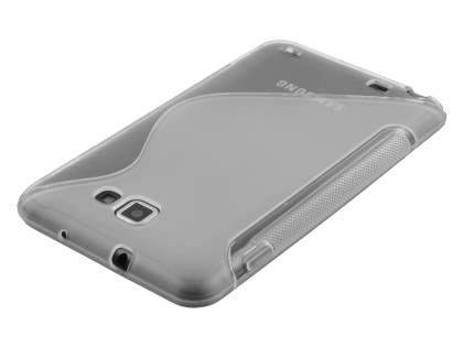 Samsung I9220 Galaxy Note Wave Case - Clear/Frosted Clear