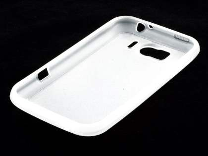 HTC Sensation XL Dual-Design Case - Clear/Frosted Clear
