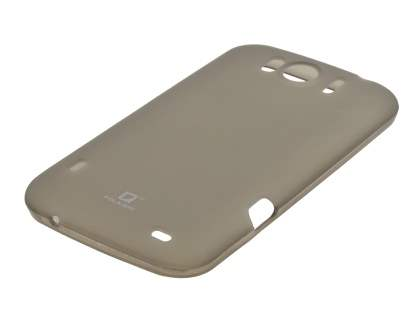 POLAISHI HTC Sensation XL Frosted TPU Case plus Screen Protector - Grey