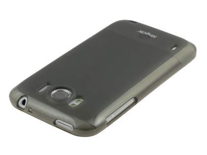 KingOK HTC Sensation XL Frosted TPU Case - Frosted Grey