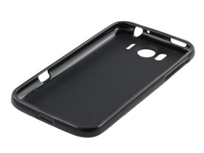 HTC Sensation XL TPU Gel Case - Frosted Black