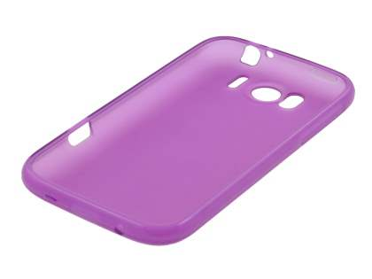 TPU Gel Case for HTC Sensation XL - Purple