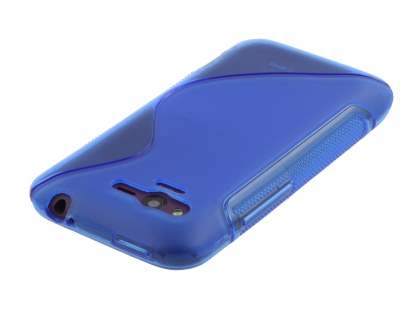 HTC Rhyme Wave Case - Ocean Blue