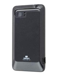 Mercury Glossy Gel Case for HTC Velocity 4G - Night Black