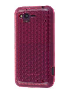 HTC Rhyme TPU Gel Case - Diamond Pink