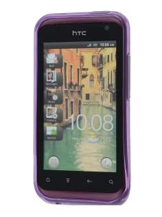 HTC Rhyme TPU Gel Case - Diamond Purple