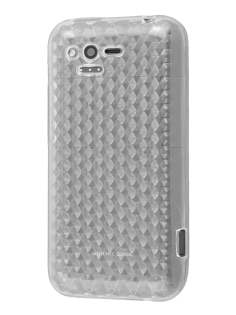 HTC Rhyme TPU Gel Case - Diamond Clear