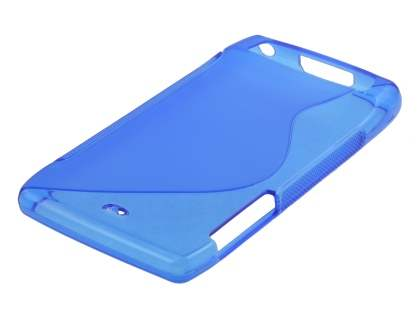 Wave Case for Motorola RAZR - Frosted Ocean Blue/Ocean Blue