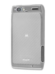 KingOK Motorola RAZR Frosted TPU Case - Frosted Clear Soft Cover