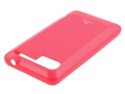 Mercury Glossy Gel Case for HTC Velocity 4G - Hot Pink