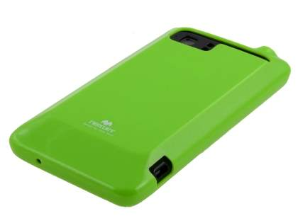 Mercury Glossy Gel Case for HTC Velocity 4G - Lime Green