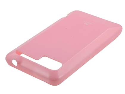 Mercury Glossy Gel Case for HTC Velocity 4G - Baby Pink