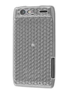 Motorola RAZR TPU Gel Case - Diamond Clear Soft Cover