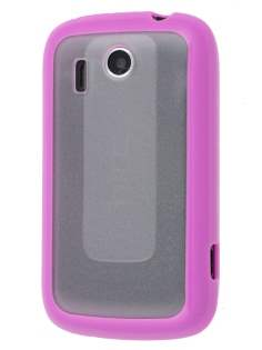 HTC Explorer Dual-Design Case - Pink/Clear Dual-Design Case