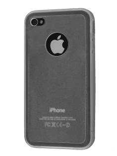 iPhone 4S Dual-Design Case - Clear/Frosted Clear Dual-Design Case