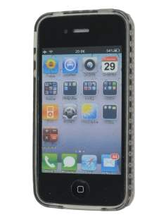 iPhone 4S Bubble Gel Case - Grey