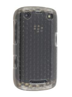 BlackBerry Curve 9360 TPU Gel Case - Diamond Grey Soft Cover