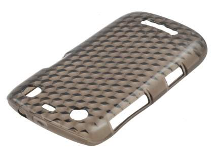BlackBerry Curve 9360 TPU Gel Case - Diamond Grey