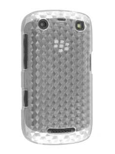 BlackBerry Curve 9360 TPU Gel Case - Diamond Clear Soft Cover