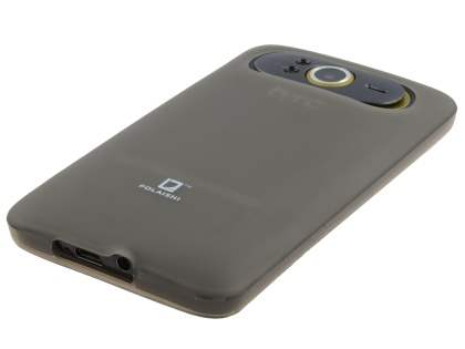POLAISHI HTC HD7 Frosted TPU Case plus Screen Protector - Frosted Grey