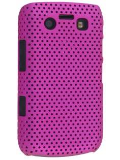 BlackBerry Bold 9700/9780 Slim Mesh Case - Pink Hard Case