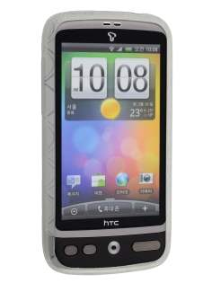 HTC Desire A8183 TPU Gel Case - Frosted Clear