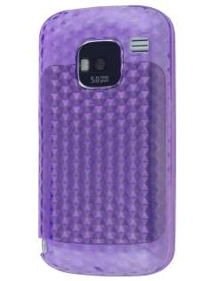 TPU Gel Case for Nokia E5 - Diamond Purple