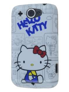 Hello Kitty Back Case for HTC Wildfire G8 - White Hard Case