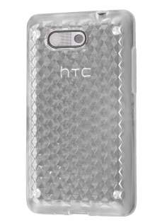 Diamond Gel Case for HTC Aria - Clear Soft Cover