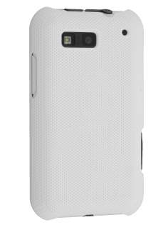 Dream Mesh Case for Motorola DEFY ME525 - White Hard Case