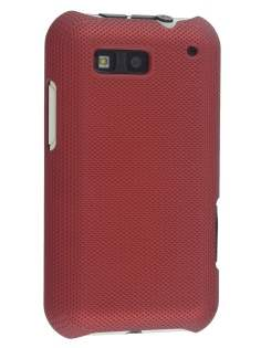 Dream Mesh Case for Motorola DEFY ME525 - Red Hard Case