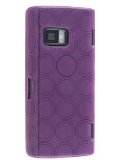 TPU Gel Case for Nokia X6 - Purple Soft Cover