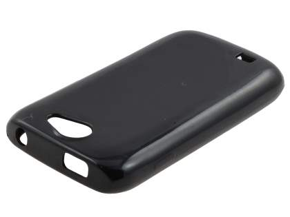 Samsung Galaxy W I8150 Colour TPU Gel Case - Black