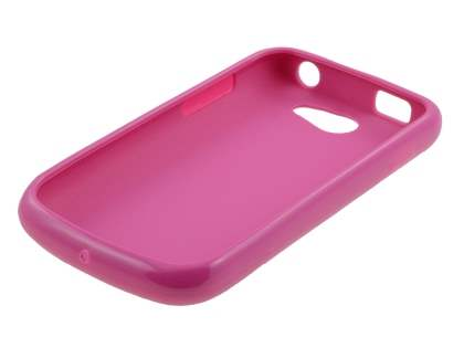 Samsung Galaxy W I8150 Colour TPU Gel Case - Hot Pink