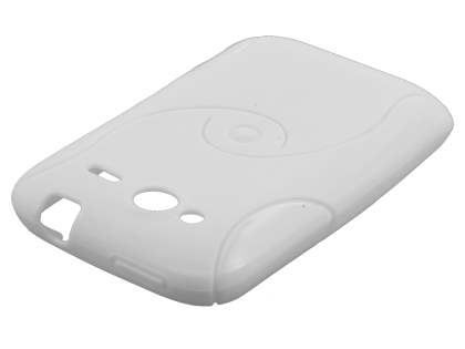 HTC Wildfire S Wave Case - Pearl White