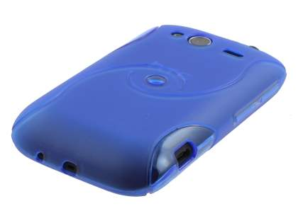 HTC Wildfire S Wave Case - Light Blue