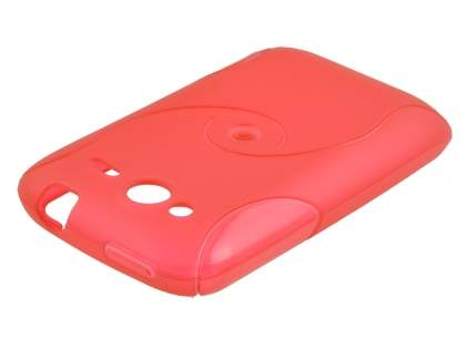 HTC Wildfire S Wave Case - Red