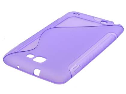Samsung I9220 Galaxy Note Wave Case - Purple/Frosted Purple